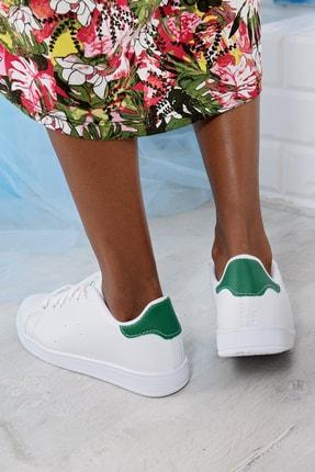 Ayakkabı Modası Kadın Beyaz Sneaker Ayakkabı 1