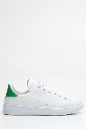 Ayakkabı Modası Kadın Beyaz Sneaker Ayakkabı 3