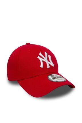 NEW ERA - 940 Leag Basic Neyyan Kırmızı Şapka 1