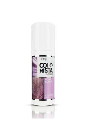 L'Oreal Paris Colorista Spray Saç Boyası Lavender 0