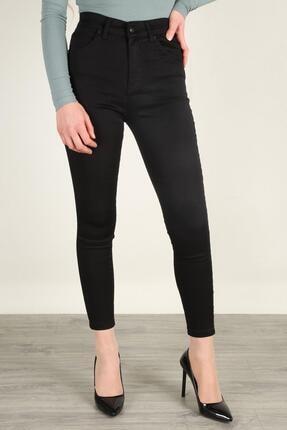 Z GİYİM Kadın Yüksek Bel Esnek Dar Paça Kot Pantolon 2