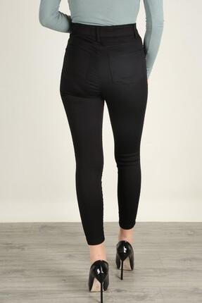 Z GİYİM Kadın Yüksek Bel Esnek Dar Paça Kot Pantolon 3