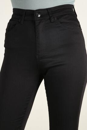 Z GİYİM Kadın Yüksek Bel Esnek Dar Paça Kot Pantolon 4