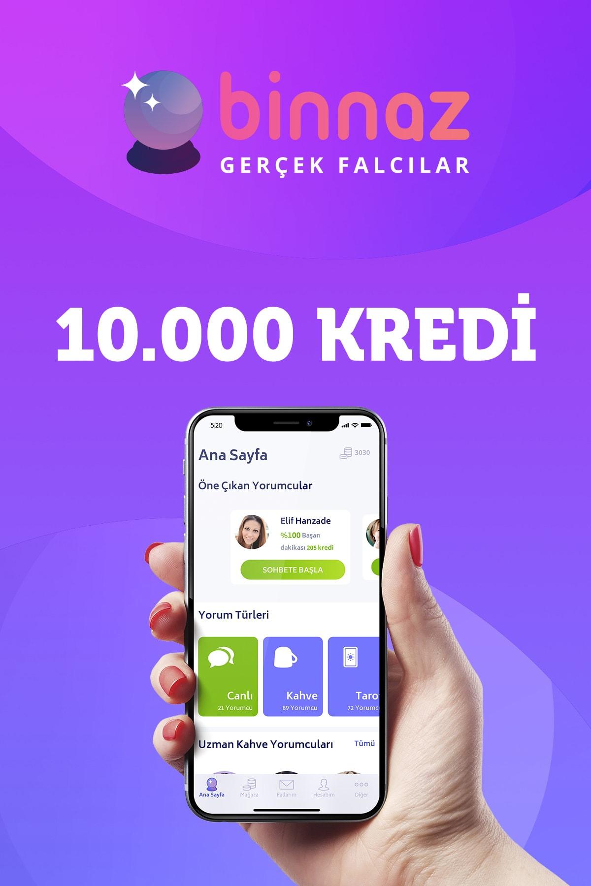 Binnaz 10.000 Kredi 0