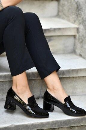 Mio Gusto Siyah Kadın Topuklu Ayakkabı 01050BLR 0