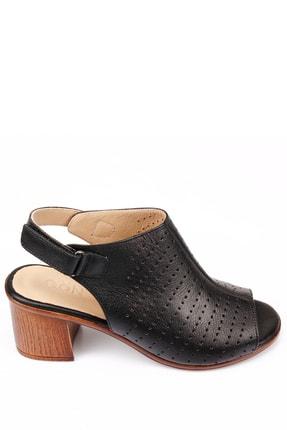 Gön Gön Hakiki Deri Kadın Sandalet 45627 2