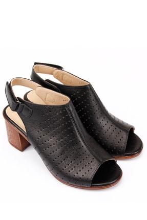 Gön Gön Hakiki Deri Kadın Sandalet 45627 3