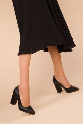 Soho Exclusive Siyah Kadın Klasik Topuklu Ayakkabı 15313 1