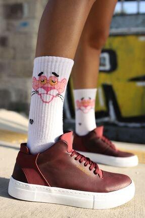 Chekich Ch004 Bt Kadın Ayakkabı Bordo 1