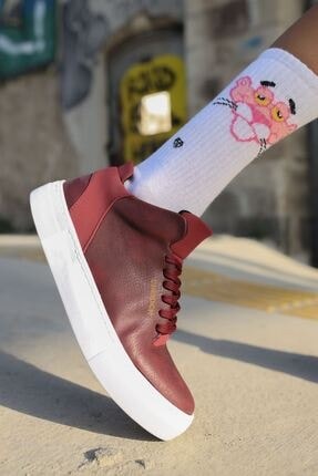 Chekich Ch004 Bt Kadın Ayakkabı Bordo 2