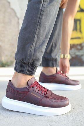 Chekich Ch073 Bt Erkek Ayakkabı Bordo 1