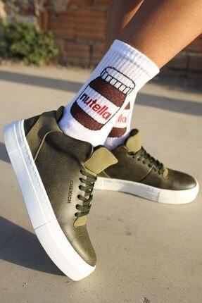 Chekich Ch004 Bt Kadın Ayakkabı Haki 0