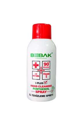 Bebak El Temizleme Dezenfektan Spreyi 150 ml 0