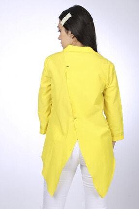 Favori Kadın Sari Gömlek 94038 3