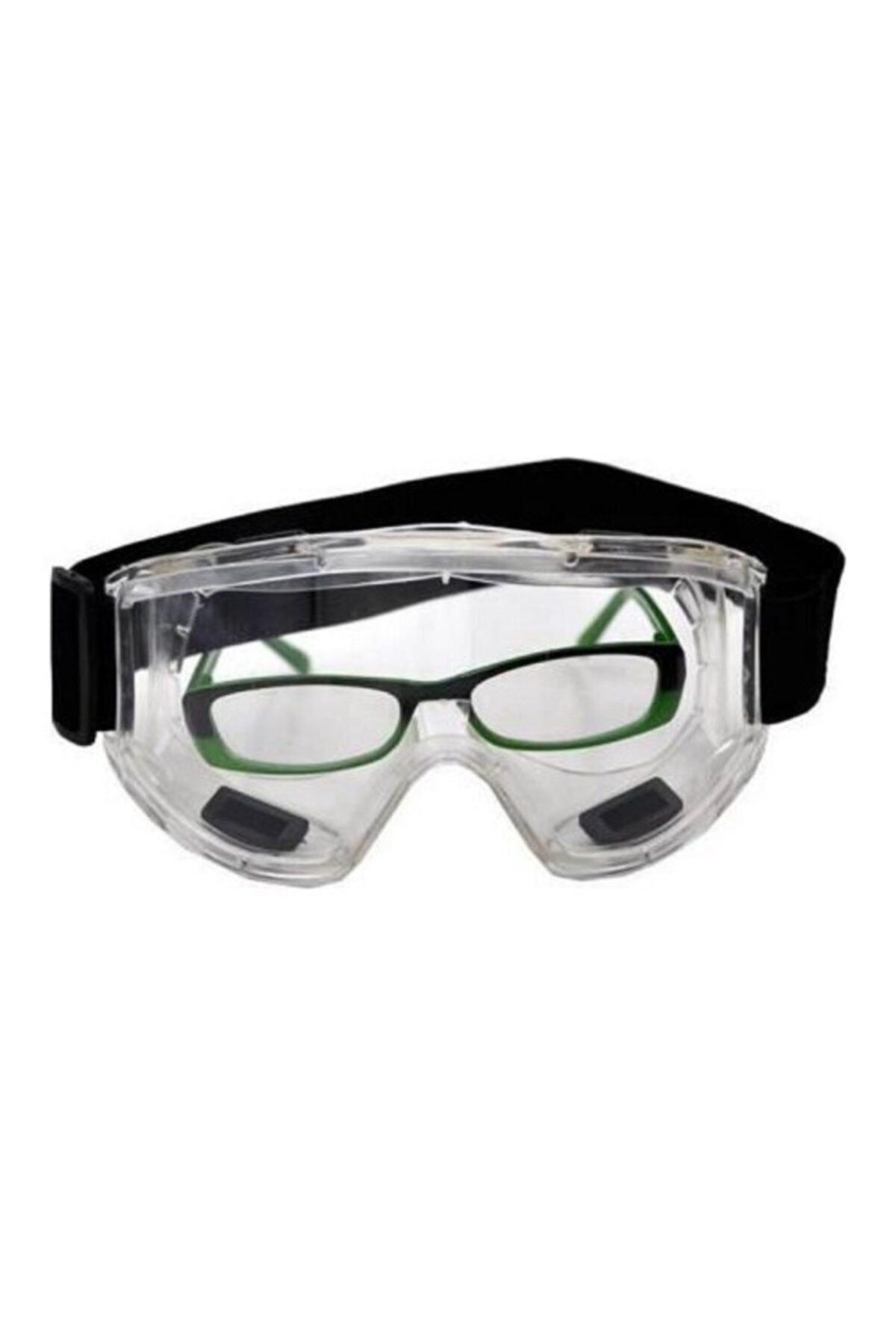 Unisex Şeffaf S-550 Sembol Grand Gözlük Koruyucu