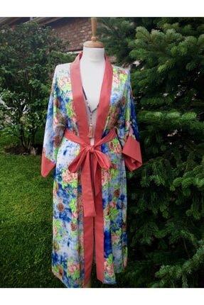 etamincebursa Kadın Desenli Kimono 0