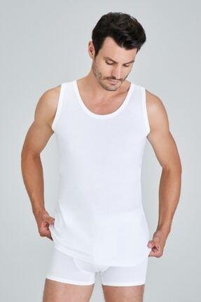 %100 Pamuklu 4'lü Paket Erkek Atlet Kaliteli Sağlıklı Rahat resmi