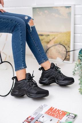 meyra'nın ayakkabıları Siyah Spor Ayakakbı 1