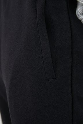 TRENDYOL MAN Siyah Erkek Panelli Regular Fit Lastik Paça Eşofman Altı TMNAW21EA0093 3
