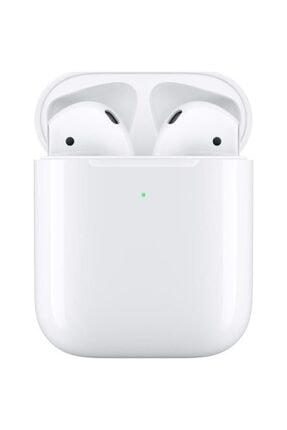 Apple Airpods 2 ve Kablosuz Şarj Kutusu 0