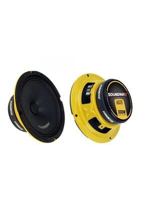 Soundmax Mx6 16 Cm 300w Profesyonel 2'li Midrange Hoparlör Takımı 0