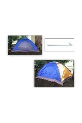 Onetick 3 Kişilik Kamp Çadırı 200*150*110cm Kolay Kurulumlu 3 Kişilik Çadır 2