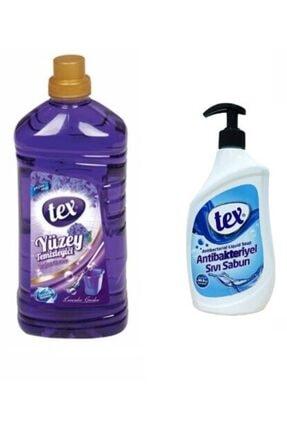 Yüzey Temizleyici Lavender Antibakteriyel Sıvı Sabun Tex Yüzey Temizleyici Lavender