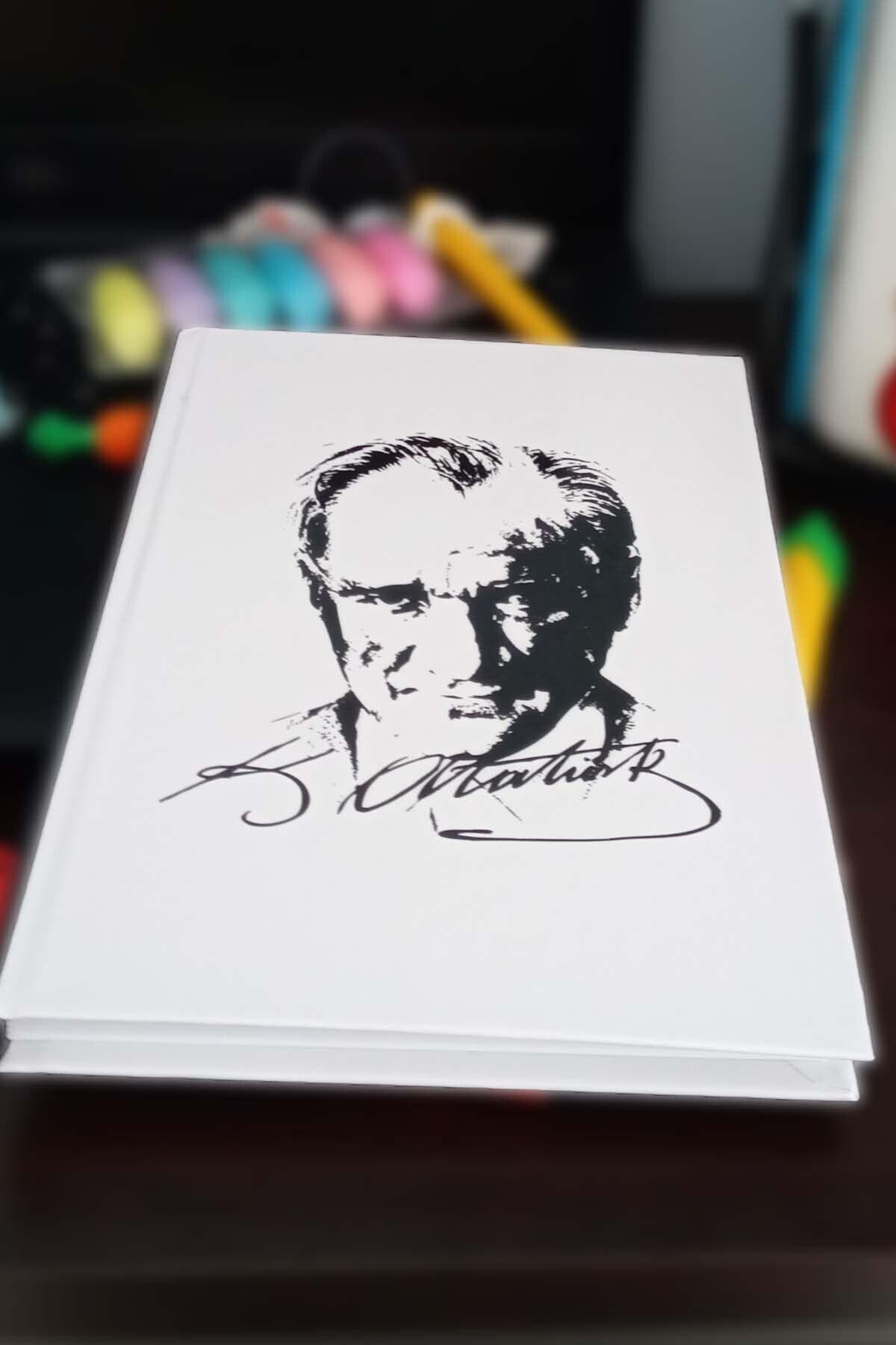 Patladı Gitti Mustafa Kemal Atatürk Tasarımlı Çizgisiz Modelist Defter