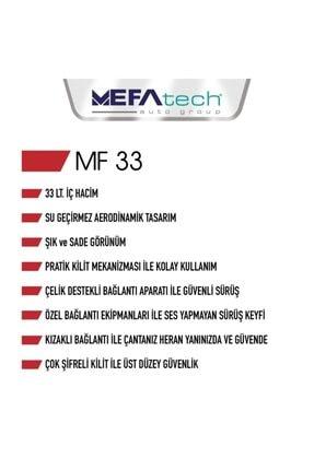 MEFATECH Mf33  33 lt. Motosiklet Çantası 2