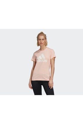 adidas Kadın Pembe Günlük Tişört 0