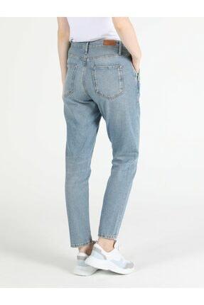 Colin's Tesa Chıno Orta Bel Rahat Kesim Paça Kadın Jean Pantolon 1