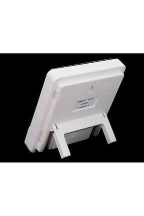Nokta's Masaüstü Dijital Termometre Nem Ölçer Saat Higrometre 2