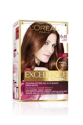 L'Oreal Paris Excellence Creme Saç Boyası 6.41 Fındık Kahvesi 0