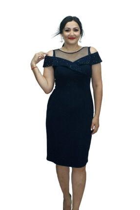 Krep Elbise 2172