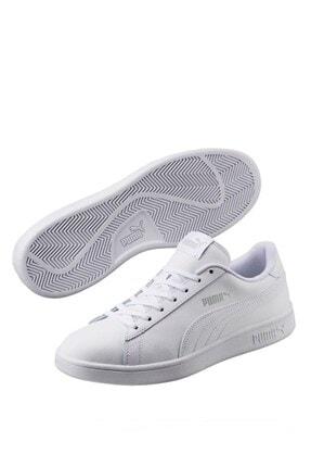 Puma Smash V2 L Jr Kadın Günlük Spor Ayakkabı 365170 02 2