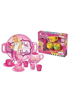 DEDE Barbie Tepsili Çay Seti 0