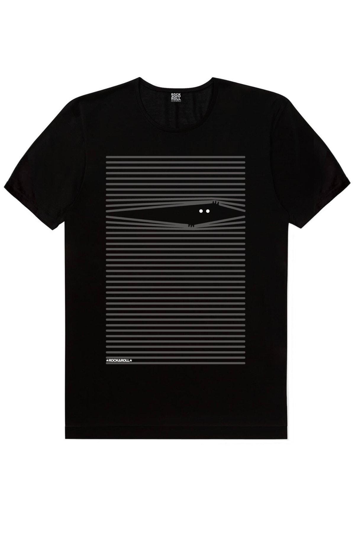 Noluyo Ya Siyah Kısa Kollu Erkek T-shirt