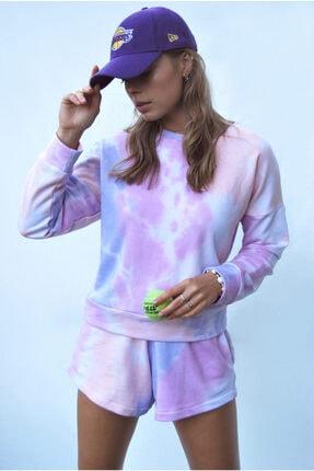 Sandshaped Kadın Lila Batik Sweatshirt 1