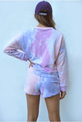 Sandshaped Kadın Lila Batik Sweatshirt 3