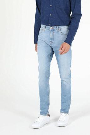 041 Danny Düşük Bel Dar Paça Slim Fit Jean Erkek Jean Pantolon resmi