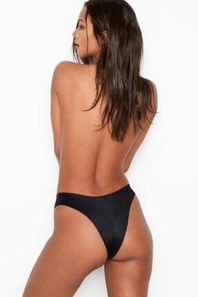 Victoria's Secret Kadın Siyah Brazilian Külot 2