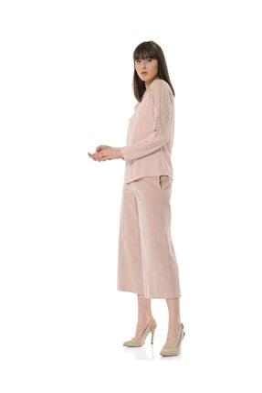BİRELİN Kadın Pembe Aurora Bluz 2
