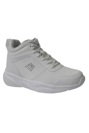 MP Kadın Gri Yüksek Bilekli Spor Ayakkabı 0