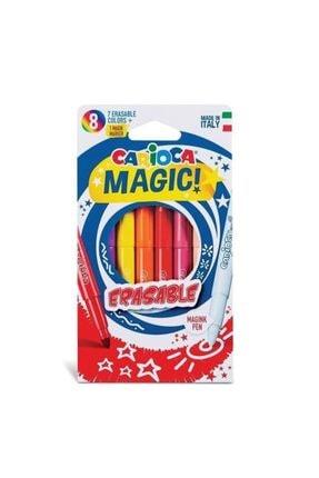 Carioca Silinebilir Sihirli Keçeli Kalemler 7 Renk+1düzeltici Beyaz Kalem 0