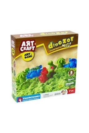 DEDE Art Craft Dinozor Kinetik Kum Seti 500gr 0