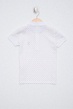US Polo Assn Beyaz Erkek Çocuk T-Shirt 1