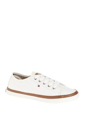 Tommy Hilfiger Kadın Beyaz Sneaker Iconıc Kesha Sneaker FW0FW02823 0