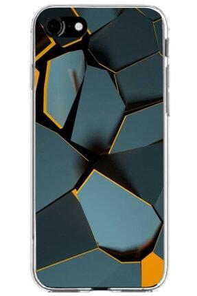 Turkiyecepaksesuar Apple Iphone Se 2020 Kılıf Silikon Baskılı Desenli Arka Kapak 0