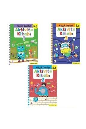 İndigo Çocuk Küçük Dahiler Aktivite Seti (5+ Yaş) (3 Kitap Takım) Okul Öncesi 0