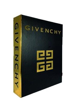 LYN HOME & DECOR Siyah Gold Varaklı Givenchy Dekoratif Aksesuar 0